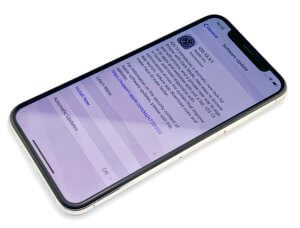 fix face id by updating software
