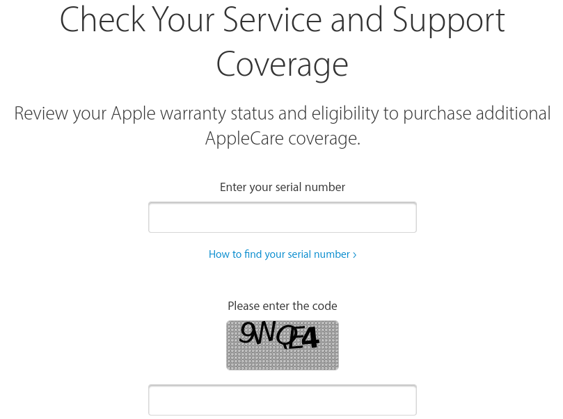 How do you know if you have AppleCare? Check AppleCare Coverage