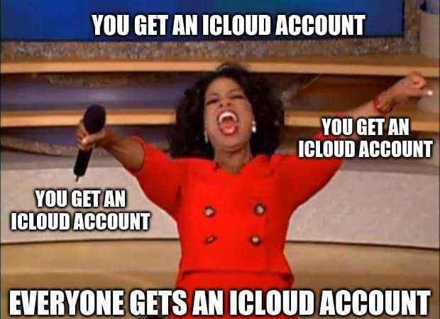 iCloud Accounts for Everyone