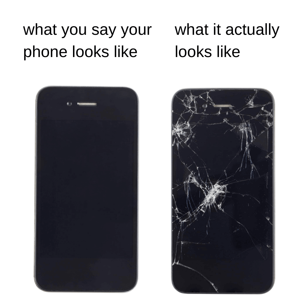 Phone Conditions: Expectation vs. Reality