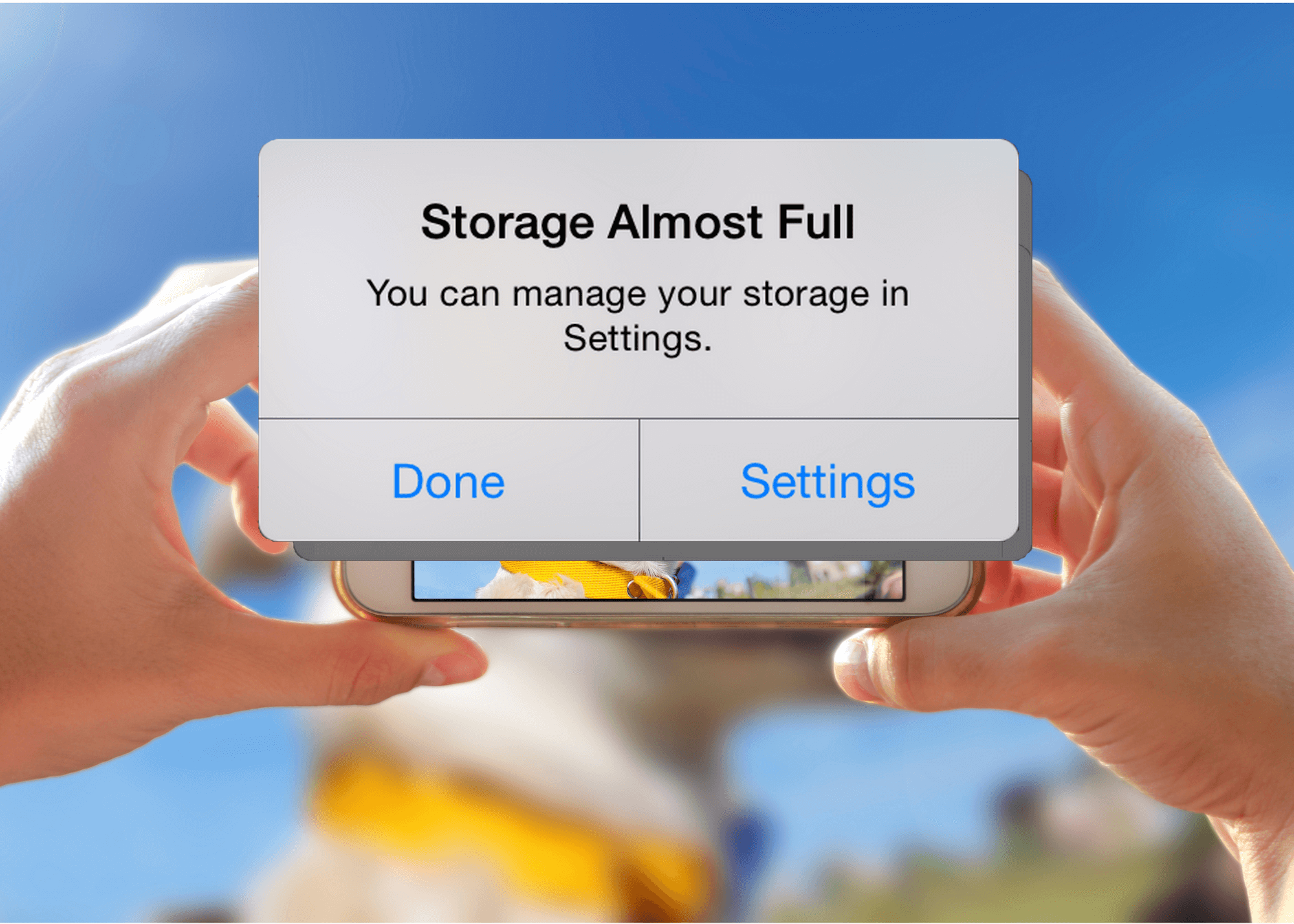 How to optimize iPhone storage
